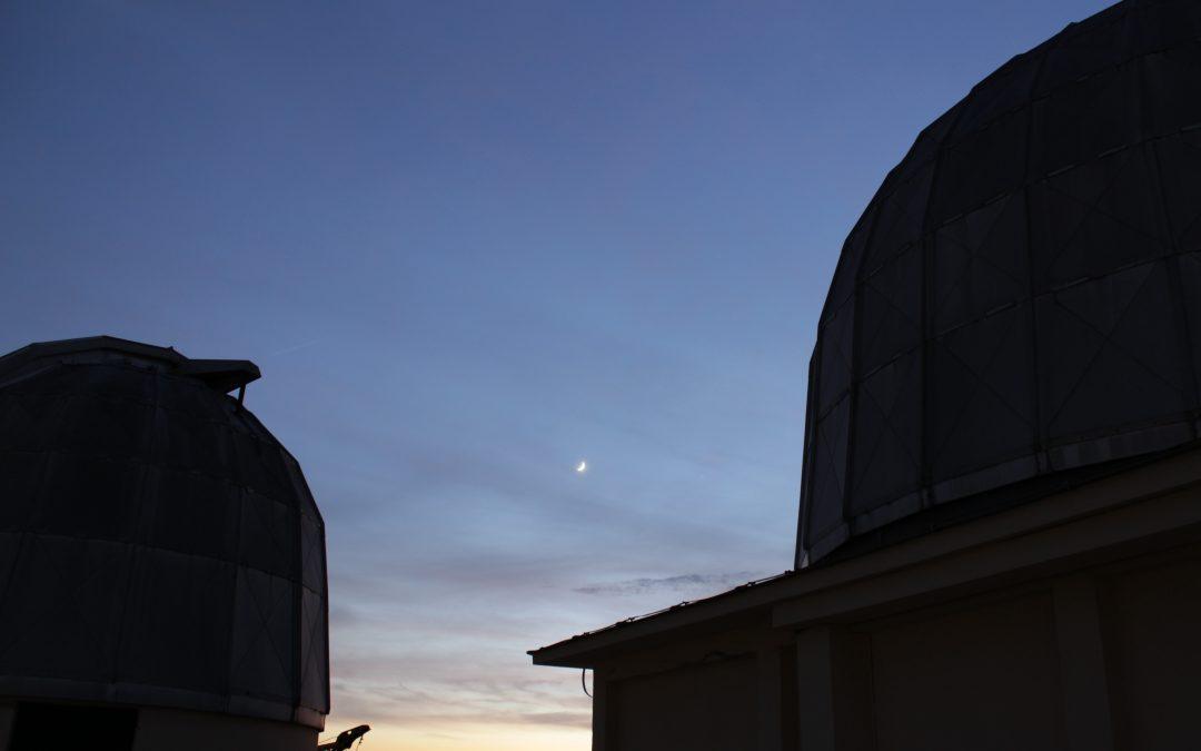 La grande congiunzione tra Giove e Saturno