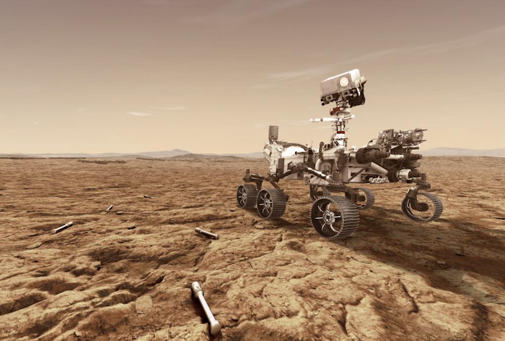 Perseverance arriva su Marte